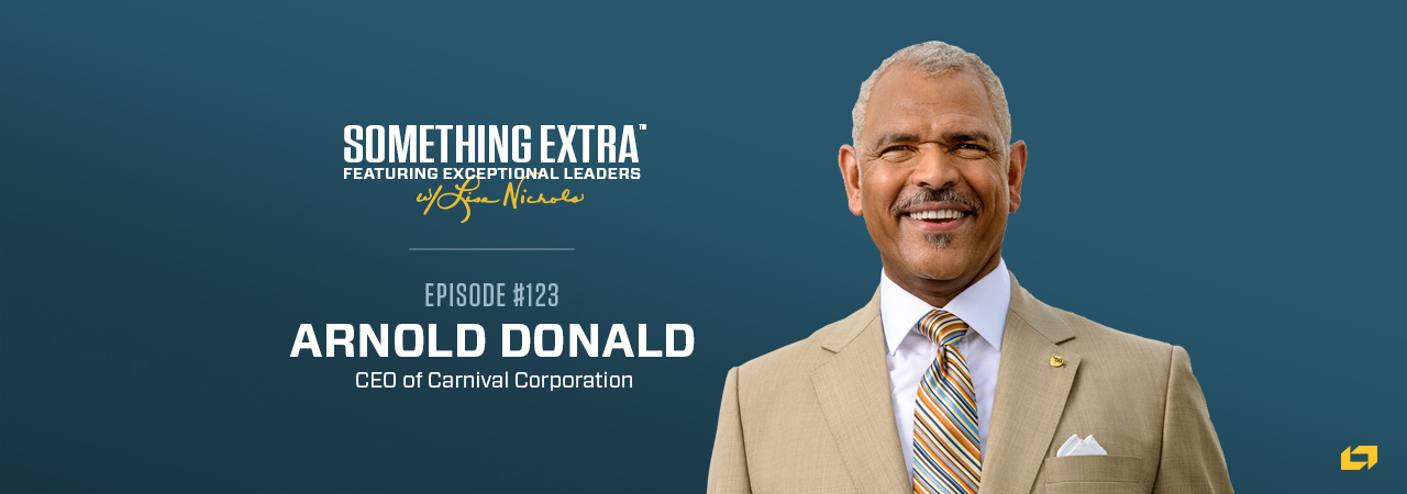 Aaron Donald, CEO of Carnival Corporation, on the Something Extra Podcast