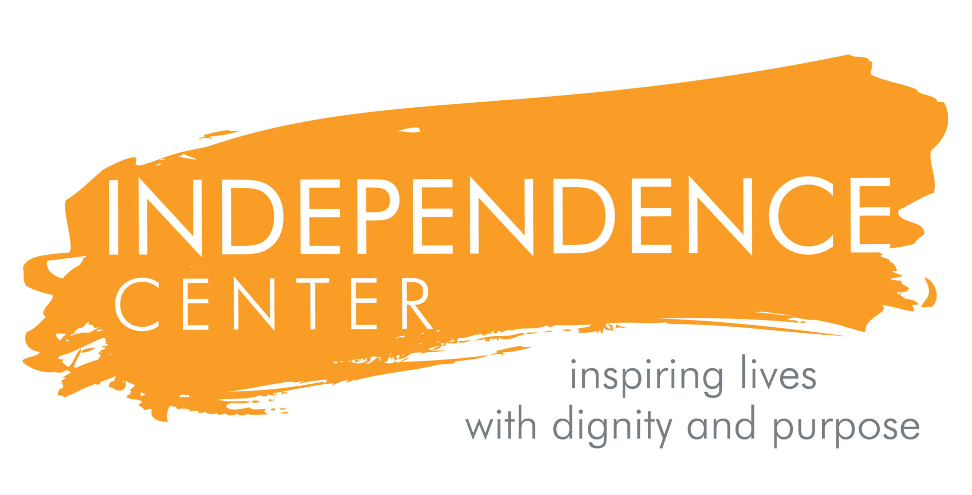 logo for the Independence Center in St. Louis