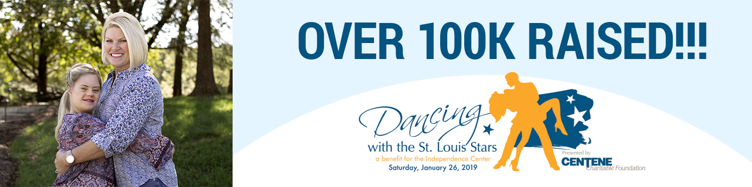 Technology Partners raised over $100k for the Dancing with the Stars St. Louis event