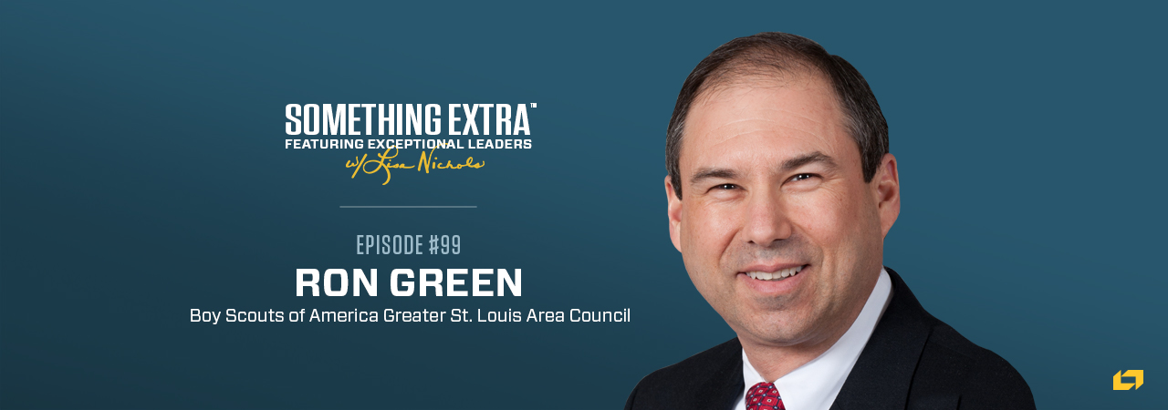 Ron Green, Boy Scouts of America Greater St. Louis Area Council, on the Something Extra Podcast