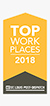 Technology Partners named one of the Top Places To Work 2018