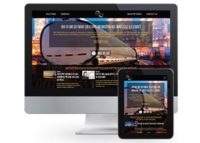 screenshot of Firestream webpage